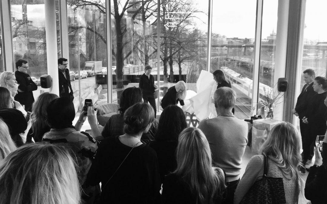 Press breakfast – Ire Möbel at Bonniers Konsthall