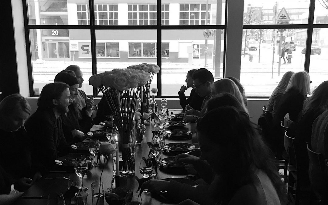 PRESS LUNCH – MASSPRODUCTIONS SHOWROOM