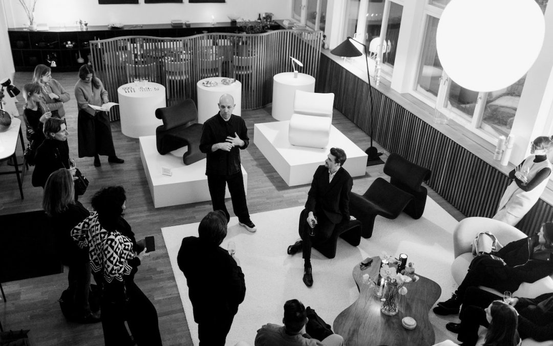 Cocktail with Artilleriet and Jan Ekselius during Stockholm Design Week 2019