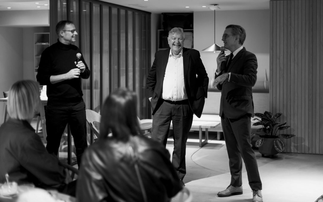 STOCKHOLM DESIGN WEEK: CARL HANSEN & SON – DESIGN TALK BETWEEN KNUD ERIK HANSEN AND DESIGNER MADS ODGÅRD