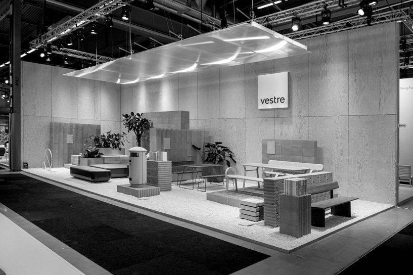 STOCKHOLM DESIGN WEEK 2020: VESTRE PRESS PREVIEW IN STAND CREATED BY NOTE DESIGN STUDIO