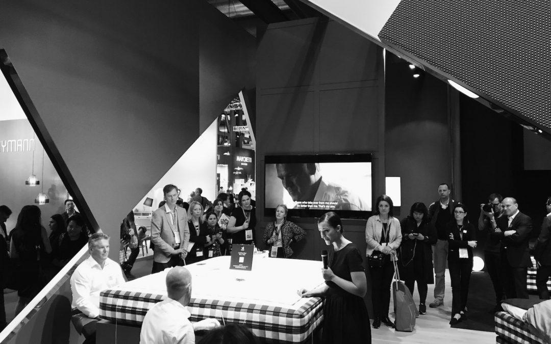 Press Launch Hästens Salone Del Mobile, Milan