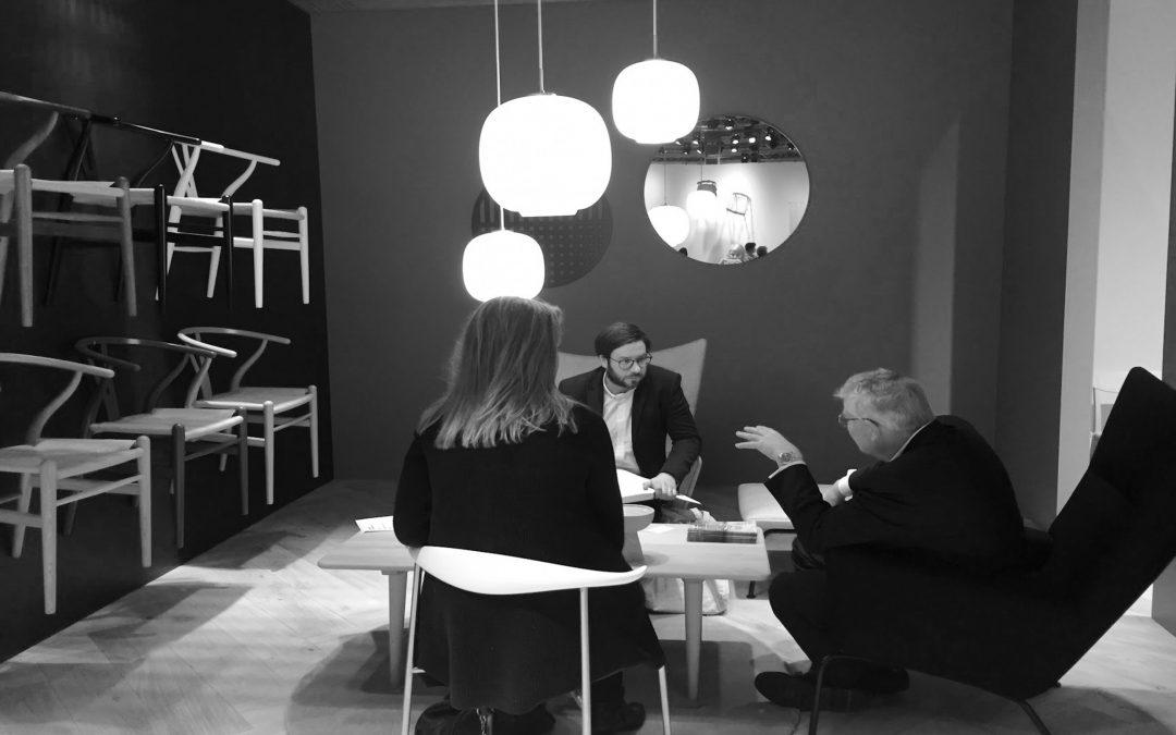 Press launch – Carl Hansen & Søn at Volvo Showroom
